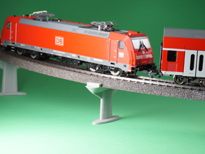 Customizable Pillar Set for Märklin H0 C-Track