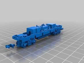 Tomytec TM19 N scale chassis