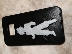 Samsung S7 Goku emboss