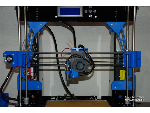 It is an image of Anet A8 Printable Upgrades with regard to extruder
