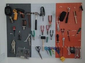 Tool wall hooks