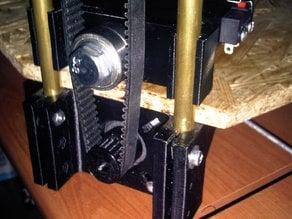 Rostock belt spreader with endstop
