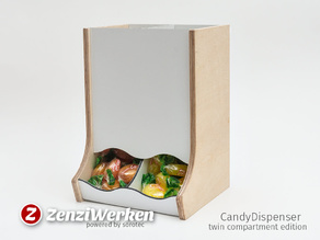 CandyDispenser | Twin Compartment Edition cnc