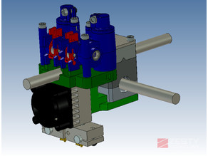 Chimera mount for the Vertex K8400