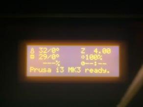 PRUSA LCD SCREEN OPTICAL FILTER & PROTECTOR
