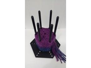 Hexagon Crochet Stand