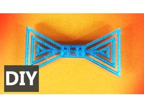 Corbata de moño de triángulos - Triangles bow tie