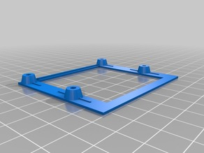 Simple Frame to mount Nanopi M1