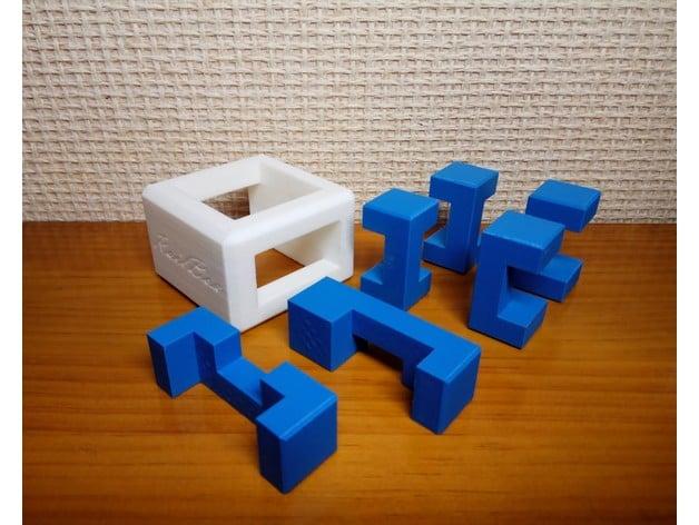 RailBox Burr Puzzle - Level 18 by lexcampa - Thingiverse