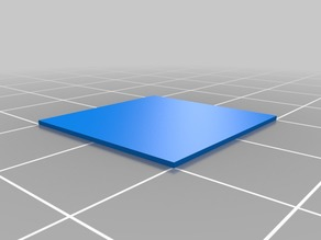 Single Layer Test Square