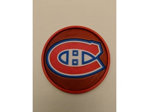 Montreal Canadians Coaster