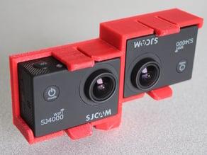 SJ4000 Stereo 3d holder