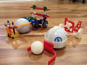 Ultimate Customizable Sphero Chariot for #make5000