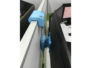 Cubicle Monitor Hanger