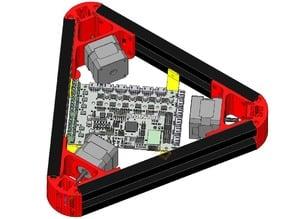SMINTx6 mounting brackets for KOSSEL frame