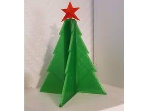 Assemblable Christmas tree decoration