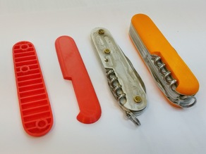 Victorinox Pocket Knife Replacement Scales