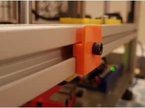 3030 extrusion plexi bracket (plexi holder)