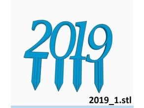 2019 Decoration   Flower Stick / Plant Stake