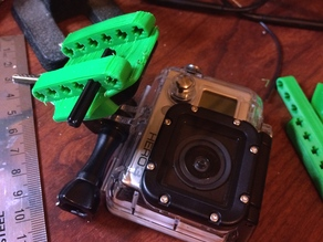 Lego GoPro Camera Mount