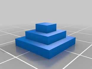 pyramid made with printcraft