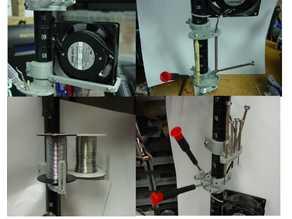 Wire Shelf Tool Holders and Brackets