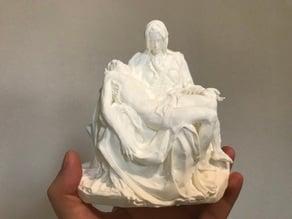 Pieta by Michelangelo (digital reconstruction)