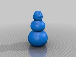 Snowman Morty