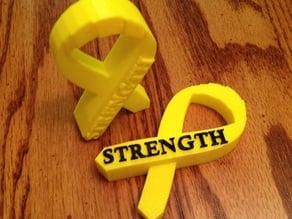 Cancer Ribbon Encouragement