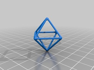 Wireframe Diamond