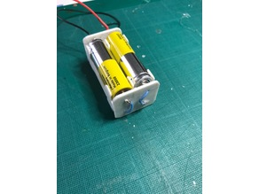 4x AA battery holder / case