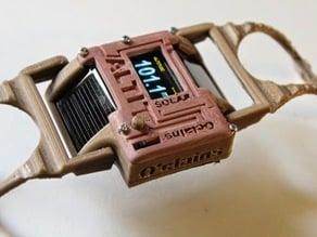 AWSLCAN : Altimeter Watch Solar Charging Lipo Arduino Nano  - Altimètre Montre Solar Lipo chargeur Arduino Nano