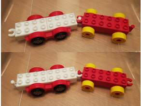 Duplo-compatible trailer hitch