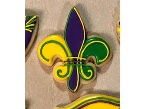 Fleur De Lis (Saints Logo) Cookie Cutter