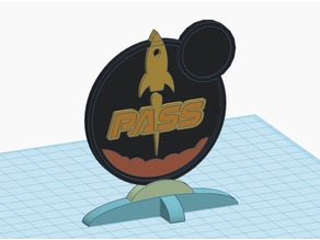 Terraforming Mars Pass Badge