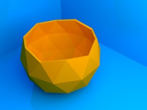 Low poly cup/bowl