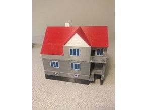 Maturitní práce – model domu