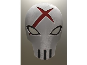 Red X Mask Teen Titans