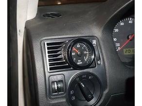 Golf IV (mk4) 52mm boost gauge vent mount