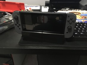 Nintendo Switch Dock Face Redesign