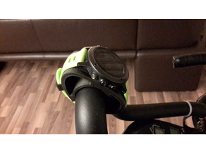 Watch mount for ergometeror bike (TPU)