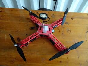 3D Printed Transforming Quadcopter