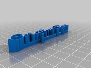 My Customized 3D name plateserafim