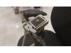 Velbon PH-237Q tripod quick release plate lever