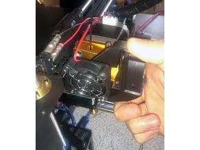 Extruder Opener for Filament change