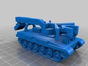 1-100 scale T-90 IMR-3 Combat Engineering Vehicle