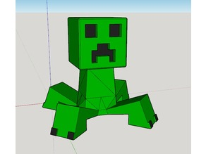 Creeper with legs