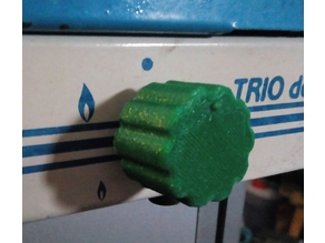 Button for Gas cooker/ Knopf für Gaskocher