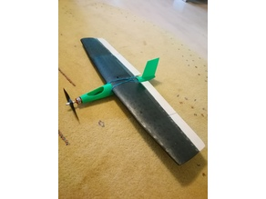 Fuselage for Lidl chuck glider
