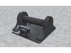 Solder Spool holder (low profile)